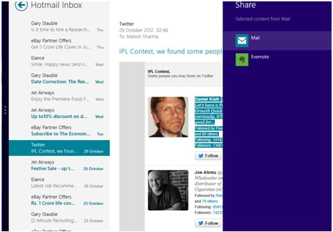 Windows 8 Hotmail help