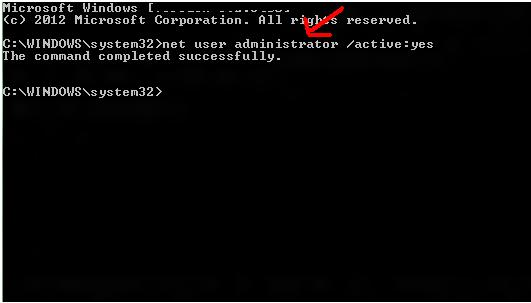 access denied error in windows8