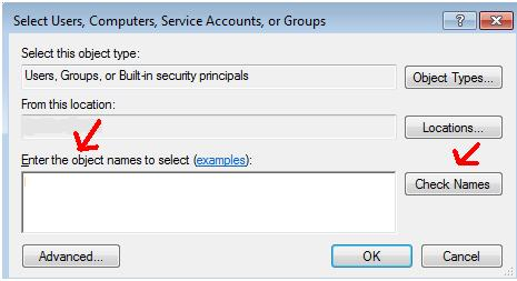 fix access denied error in windows 8