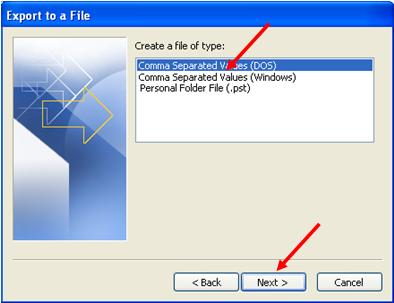 expert file in outlook