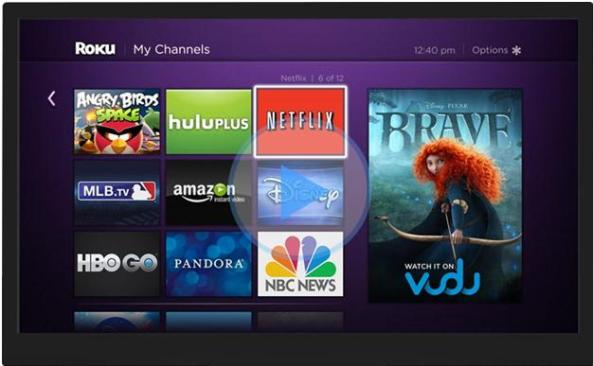 setup roku with HDTV