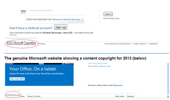 Outlook Phishing scam | Vtechsquad Blog - Online Technical
