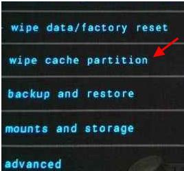 reboot samsung galaxy