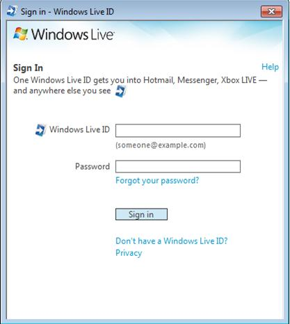 Windows live id to get new sign-in features in wave 4 liveside. Net.