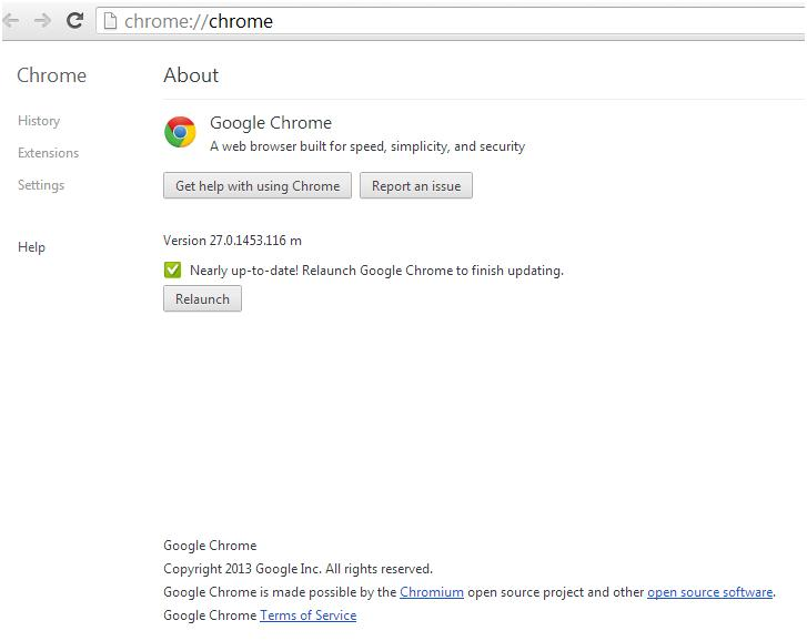 How to update google chrome browser vtechsquad blog online google chrome updated ccuart Gallery