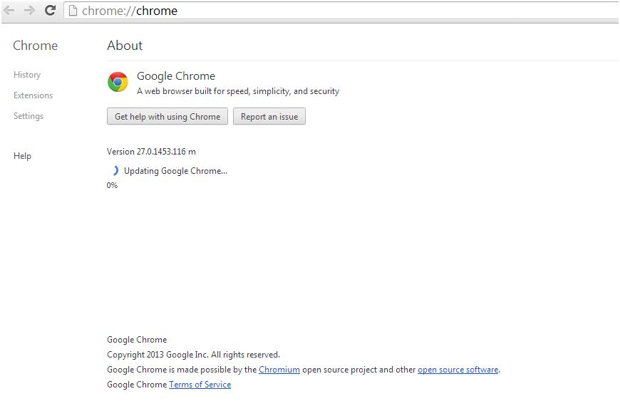 How to update google chrome browser vtechsquad blog online google chrome updating ccuart Choice Image