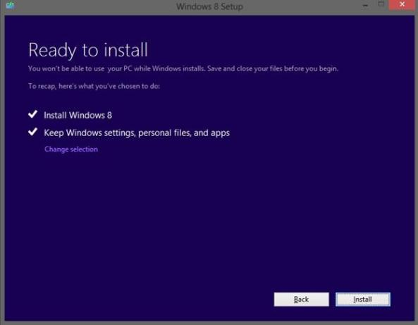 how to reset windows 8 back to factory settings