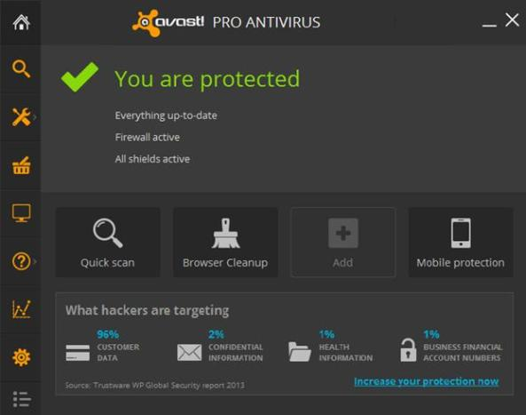 avast add in crashes outlook