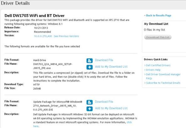 bluetooth-driver-details