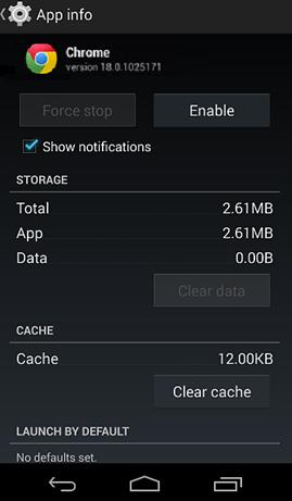 clear-chrome-cache