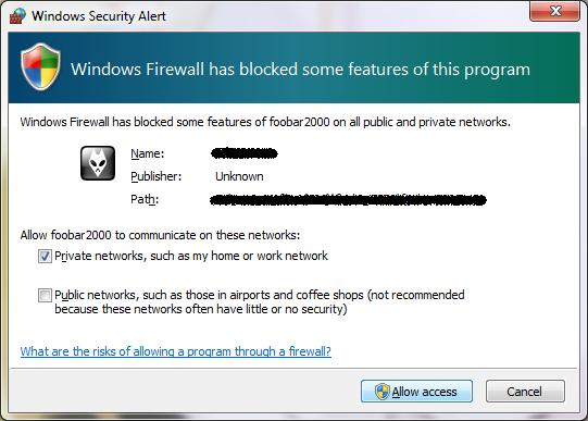 access-in-firewall