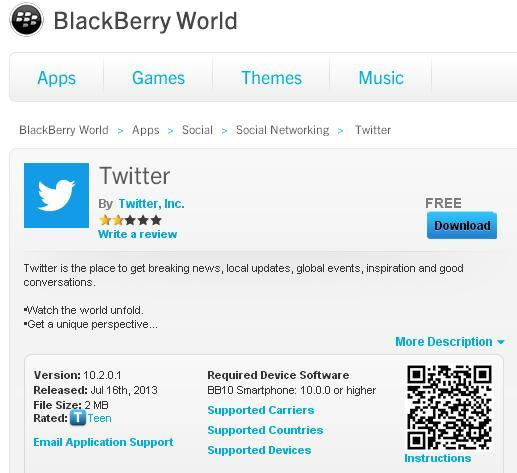 download-twitter-on-bb-world